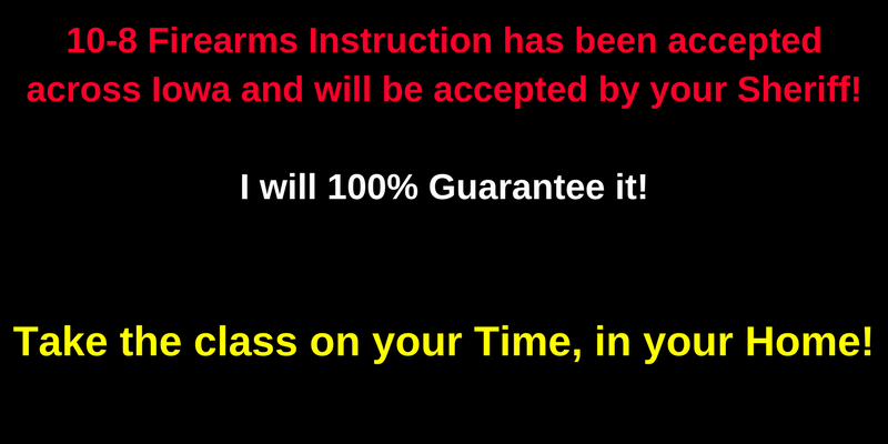 NO Driving!NO Shooting!Take the class on your Time, in your Home!